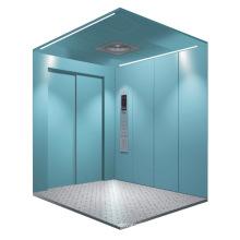 Ascenseur de fret (ouverture latérale de deux panneaux)