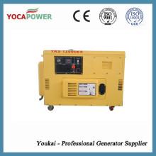 8kVA gerador de baixo ruído diesel para uso doméstico