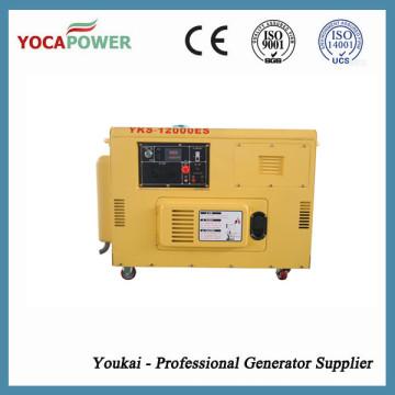 8kVA generador diesel de bajo ruido para uso doméstico