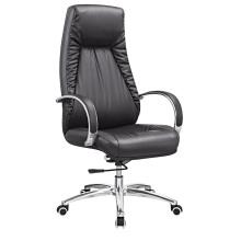 Chaise pivotante en cuir moderne en cuir pivotante (HF-A1530)