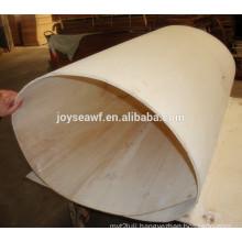 flexible poplar plywood,bent plywood for coffee table