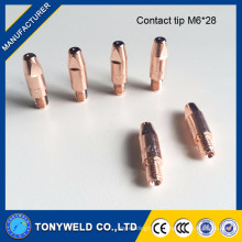 Binzel 15AK mig welding contact tip M6X25
