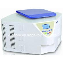 Máquina centrífuga refrigerada de sangre de alta velocidad de laboratorio médico