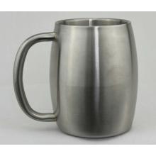 Taza de cerveza de acero inoxidable 450 (CL1C-M15-B)
