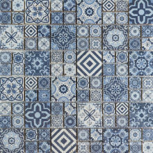 Romania Style Hotel Decoration Natural Scabos Travertine Mosaic Tile