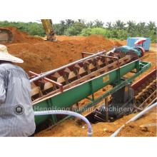 Machine de sable de lavage de spirale pour le sable de quartz