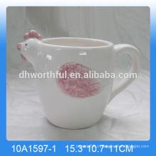 Высококачественная керамическая кружка с петардой, петушиная чашка