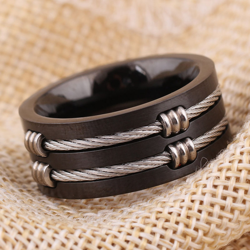 Cable Ring Jewelry