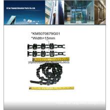 kone escalator chain, escalator step chain, escalator chain step roller