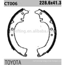 k2232 04495-14010 for Toyota Rear brake pads shoe