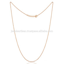 16 Inch Brass Chain with Gold Toned Plating Thin Size all Age Persions Wear