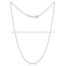 16 дюймов Латунь цепь с золото тонированное покрытие тонкий Размер всех возрастных Persions носить