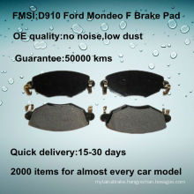 OE quality Ford Mondeo front car disc brake pad D910