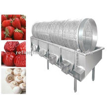 Máquina classificadora de legumes e frutas