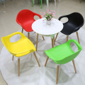 Eames Wooden Base Dining Room Elephant Chair