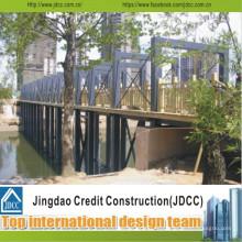 Acero Estructura Puente Sección Acero