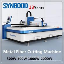 CNC Fiber Laser Metal Cutting Machine Syngood SG5050 300w