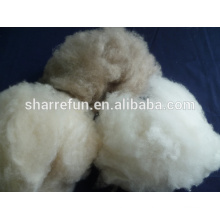 dehaired 100% Mongolian cashmere wool fiber