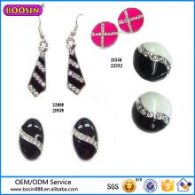 Wholesale Fashion Jewelry Rhinestone Thread Earring#22352