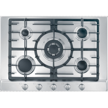 Miele Cooking Hobs 5 Burner Stainless Steel