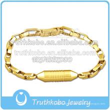 Bracelet en plaqué or avec breloque fantaisie de haute qualité à vendre à Truthkobo