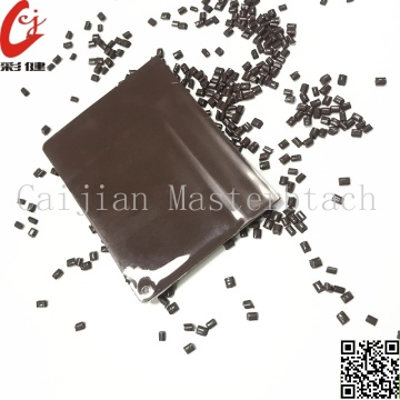 PE Brown Color Masterbatch Granules
