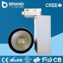 High Lumens High Brightness 3 Wires CRI>85 100Lm/W LED COB Spot Track Light