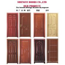 Prix à bas prix MDF a conçu des portes en bois