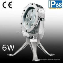 Новый тип 6 Вт подводный светодиодный прожектор Водонепроницаемый свет (СП-95161)