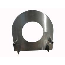 OEM Edelstahl Stanzteil, Laser Cutting Ersatzteil, Customized Blechbearbeitung
