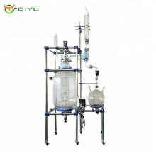 Customized 200L Lab Chemical Jacketed Combination Universal Glass Reactor