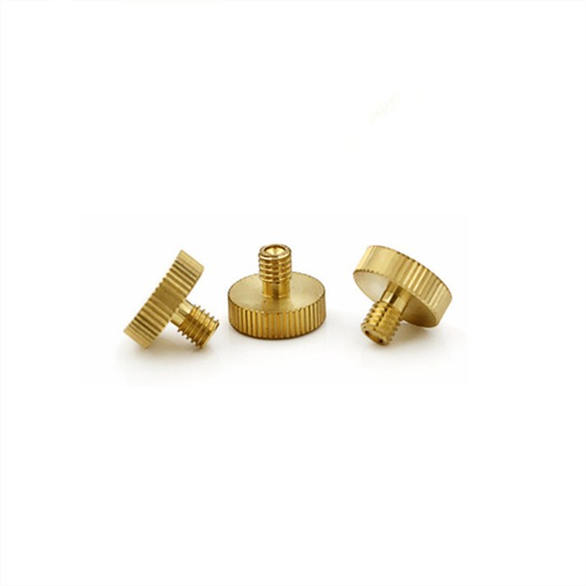 China Hardware Plain Finish Knurled Head Thumb