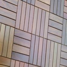 Ipe 300 * 300 m m azulejos del Decking al aire libre
