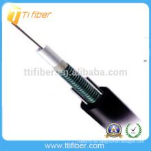 Mejor precio 12 núcleo único modo GYXTW Cable de fibra óptica blindada Hecho en China