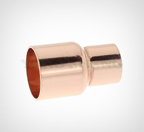 Red Copper Pipe Fitting Reducer