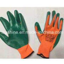 Professional Industrial Factory High Quality Safety Latex Working Gloves