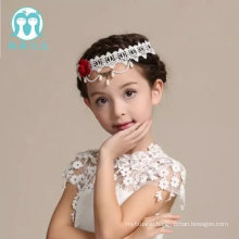 european style headdress for head wear necklace lace appliqued flower hairs accessories