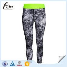 Spandex Fitness Wear Women Sublimation Colourful Yoga Pants