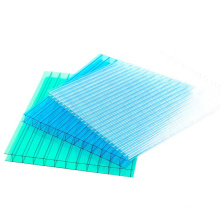 2021 Newest Free Sample  Customized  Anti-UV coated  Hollow polycarbonate sheet for canopy and greenhouse