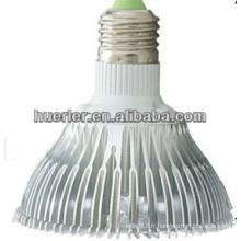 Vente chaude 9w par30 led éclairage e27 spotlight 900lumen 100-240V