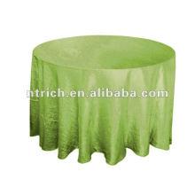 Crinkle ткани тафта таблицы, таблица бегуна, пояс стул, столовых, салфетки, Чехлы на стулья