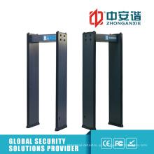 200 Level Sensitivity Security Detector de metais portátil para estadios desportivos