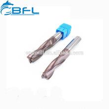 Fraises en bout de fil de carbure de BFL, coupeurs de fraisage de fil pour le tour de commande numérique par ordinateur