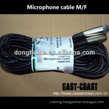 3Pins Male to female microphone cable