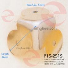 Shiny Iron Brass Protector Handbag Angle Corner Accessories