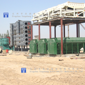 300T CottonSeed Oil Press Plant Projekt