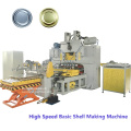 Fully automatic aluminum easy open ends making machine production line for beverage can packing