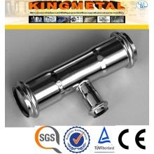 Aço inoxidável 316/F304 imprensa encaixes Tee de redução