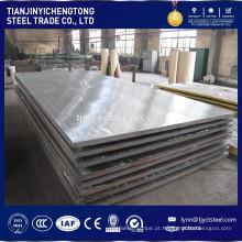 Chapa de aço 4x8 / placa de aço q345b 40mm de espessura