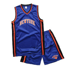 neue trendige und neue Stil-Mens fashion Basketball Trikot und short